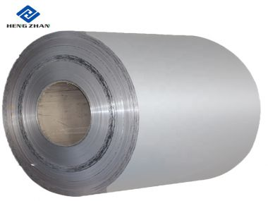 Silver 3000 Series PE Colored Aluminum Coil for Ceiling