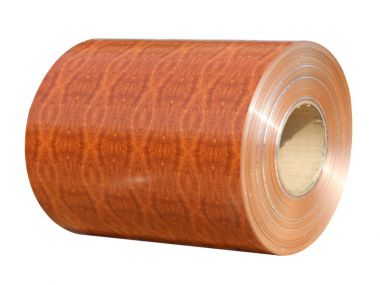 OEM Surface Pattern Wood, Stone, Brick Grain Coating Aluminum Aluminium Coils for Decoration