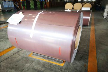 Aluminum Gutter Coil Export to Europe Market